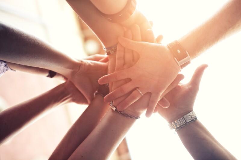 03.17.14 Volunteer hands