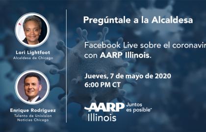 La comunidad latina de Chicago es la prioridad principal de AARP Illinois a medida que aumentan los casos de COVID-19