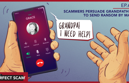Scammers Persuade Grandfather to Send Ransom by Mail