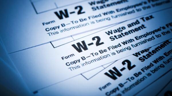 W-2 Tax Form