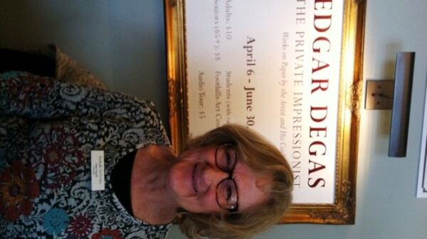 Help out at the Degas exhibit!