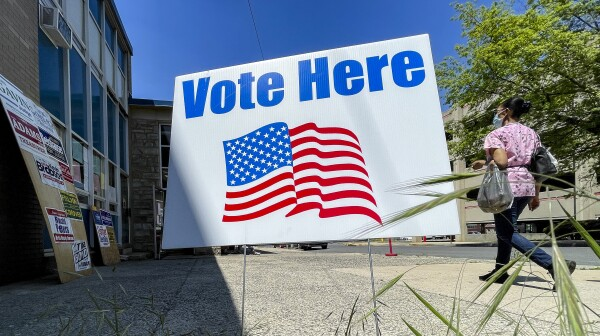 Election Day In Reading Pennsylvania