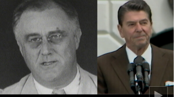 FDR Reagan Take A Stand July 12 2016 Video