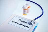 open enrollment stock photo - yin yand