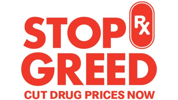 STOP Rx Greed Logo