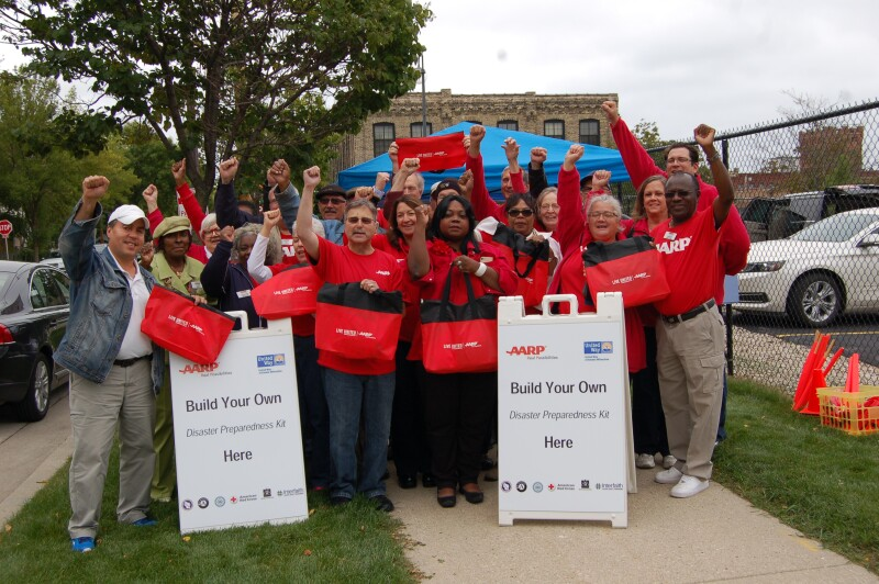 Bringing AARP to Life Across Wisconsin - Day of Service