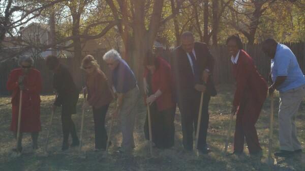 Groundbreaking for Grandparent Park in Tri-S Neighborhood in Wichita