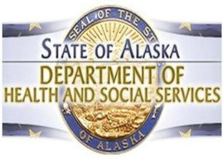 State of Alaska Department of Health and Social Services logo