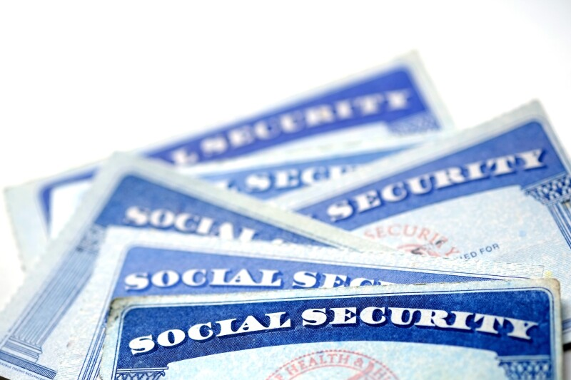 Social Security Cards for identification