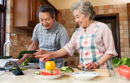 Join Us for Virtual Cooking and Brain Health Classes
