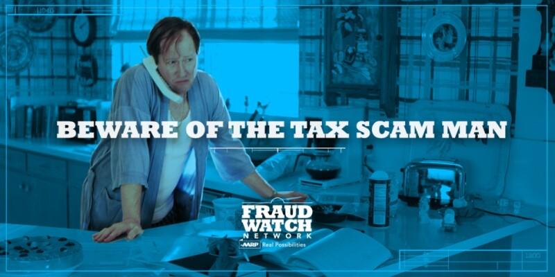 Tax Scam Man