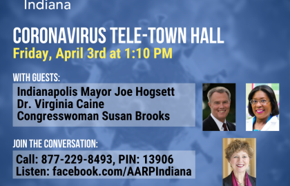 Join us for a coronavirus Tele-Town Hall April 3
