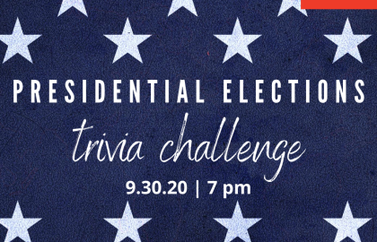 Presidential Elections Online Trivia Challenge