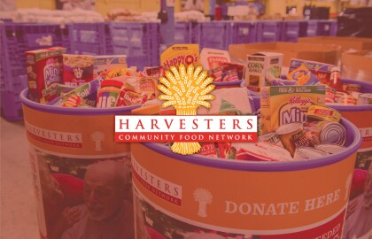 Harvesters Community Food Bank Virtual Support Drive