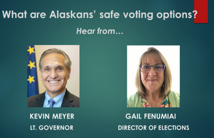 7/22: Phone town hall on safe voting choices