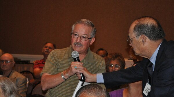 Roy Aragon and Leo Garza