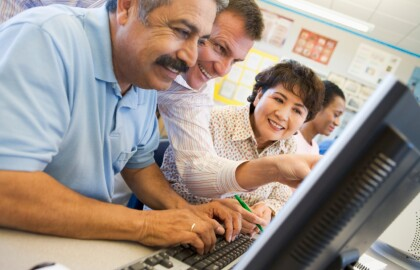 Program Helps Older Texans Go Back to School
