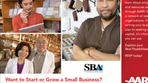 SBA AARP Encore Entrepreneur Event
