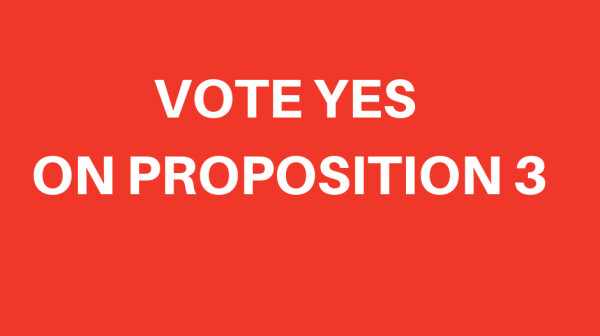 VOTE YES ON PROPOSITION 3