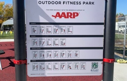 AARP funds Utah's First FitLot in South Salt Lake