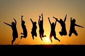 friends jumping jan newsletter