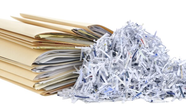 Shredding Documents