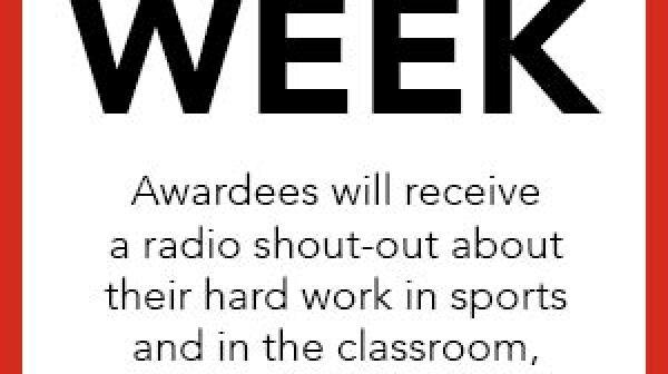 Scholar Athlete of the Week 3380909090334911141