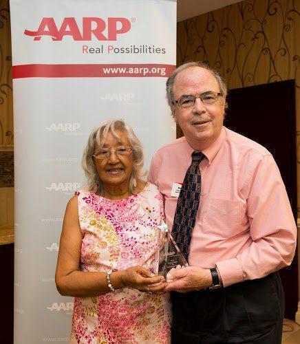 AARP Andrus Award Winner & State President 2014