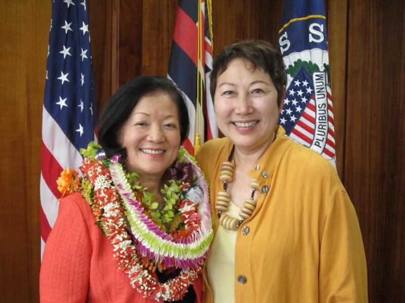 Hawaii Senator Mazie Hirono