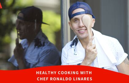 Join AARP NY for Healthy Cooking Classes with Chef Ronaldo Linares