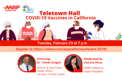 LIVE Teletown Hall: Vaccine Distribution in California