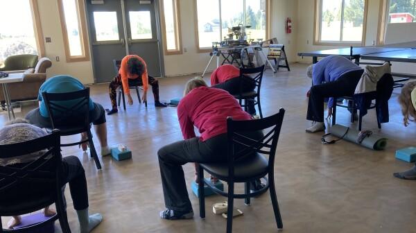 Gustavus Community Center yoga