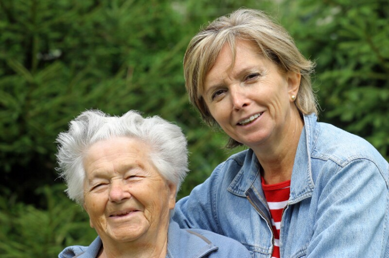 Boomer caregiver