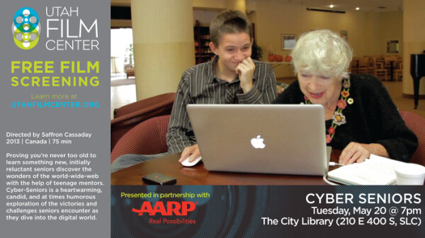Cyber Seniors flyer