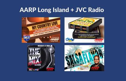 Dance and groove with AARP Long Island + JVC Radio!