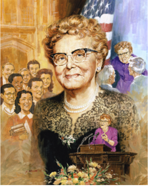 Dr. Ethel Percy Andrus, founder of AARP