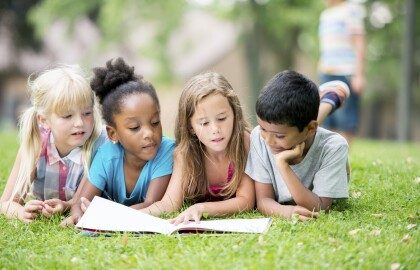 Volunteer to help a child learn to read