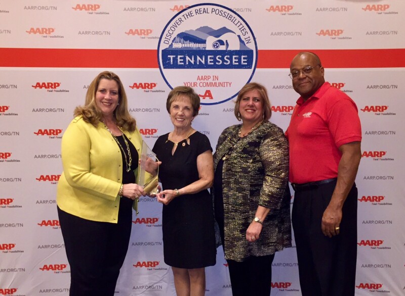 Andrus 2017 - Kathy Parks and TN staff