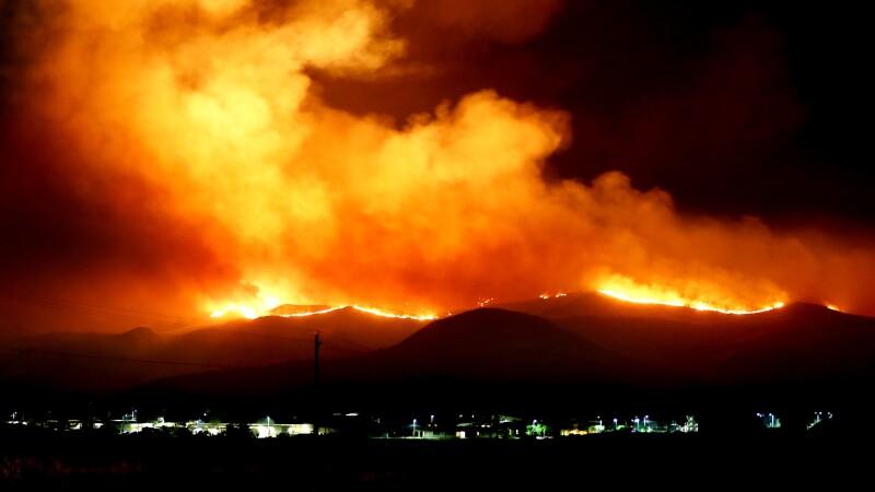 Camp Pendleton fire