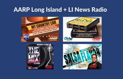 Dance and groove with AARP Long Island + JVC Radio!