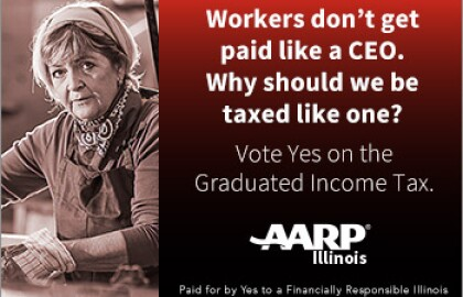 AARP is Voting Yes on the Graduated Income Tax - Helpful Info to Help You Understand Why