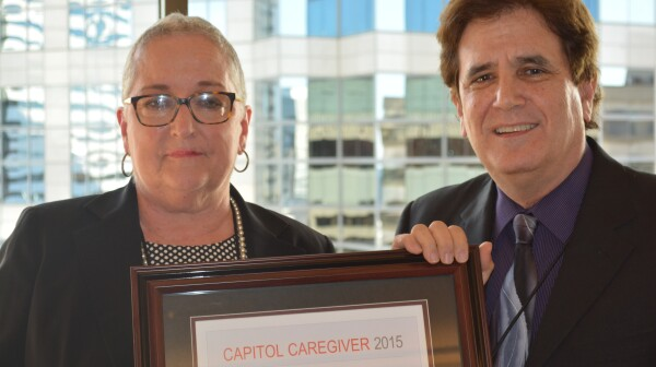 "Senator Debbie Smith, ""Capitol Caregiver"""