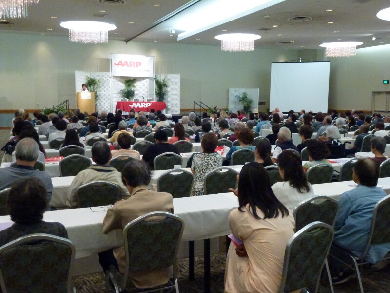 More than 400 people attended two AARP-sponsored caregiver events for Hawaii residents in November 2012.