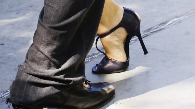 Tango Dance on the City Street
