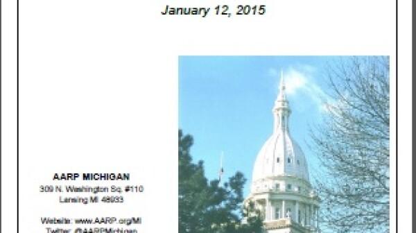 Legislative End of Session report cover