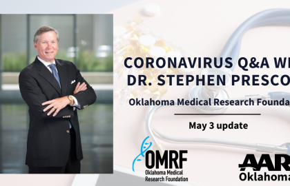Coronavirus Q&A with Dr. Stephen Prescott: May 3 Update