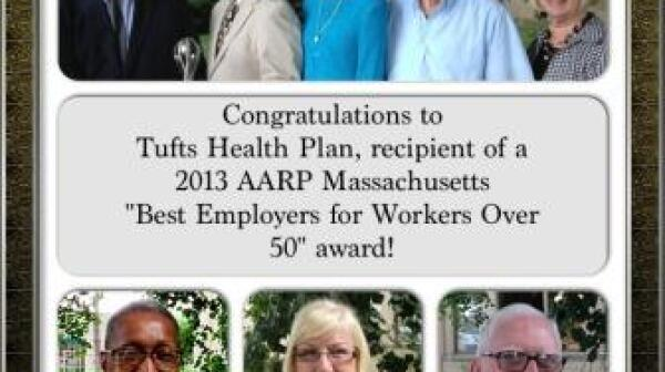 Tufts Best Employer 2013