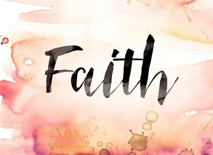 Watercolor Faith