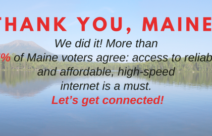 AARP Maine Applauds Maine Voters for Passage of Ballot Referendum to Expand High-Speed Internet