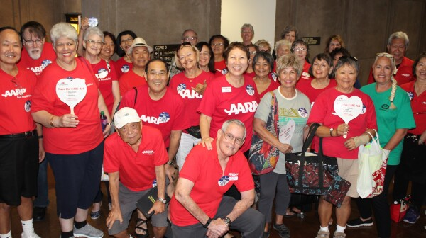 Volunteers Support CARE Act